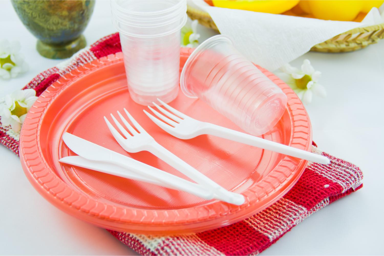 plastico desechable