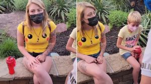 """""""Enseñaba gran parte del trasero y decía groserías"""": Six Flags explicó por qué echó a una joven mamá del parque"""