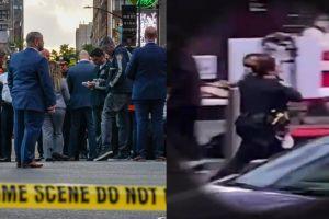 El heroico momento en que una policía salvó la vida de la niña hispana herida en Times Square
