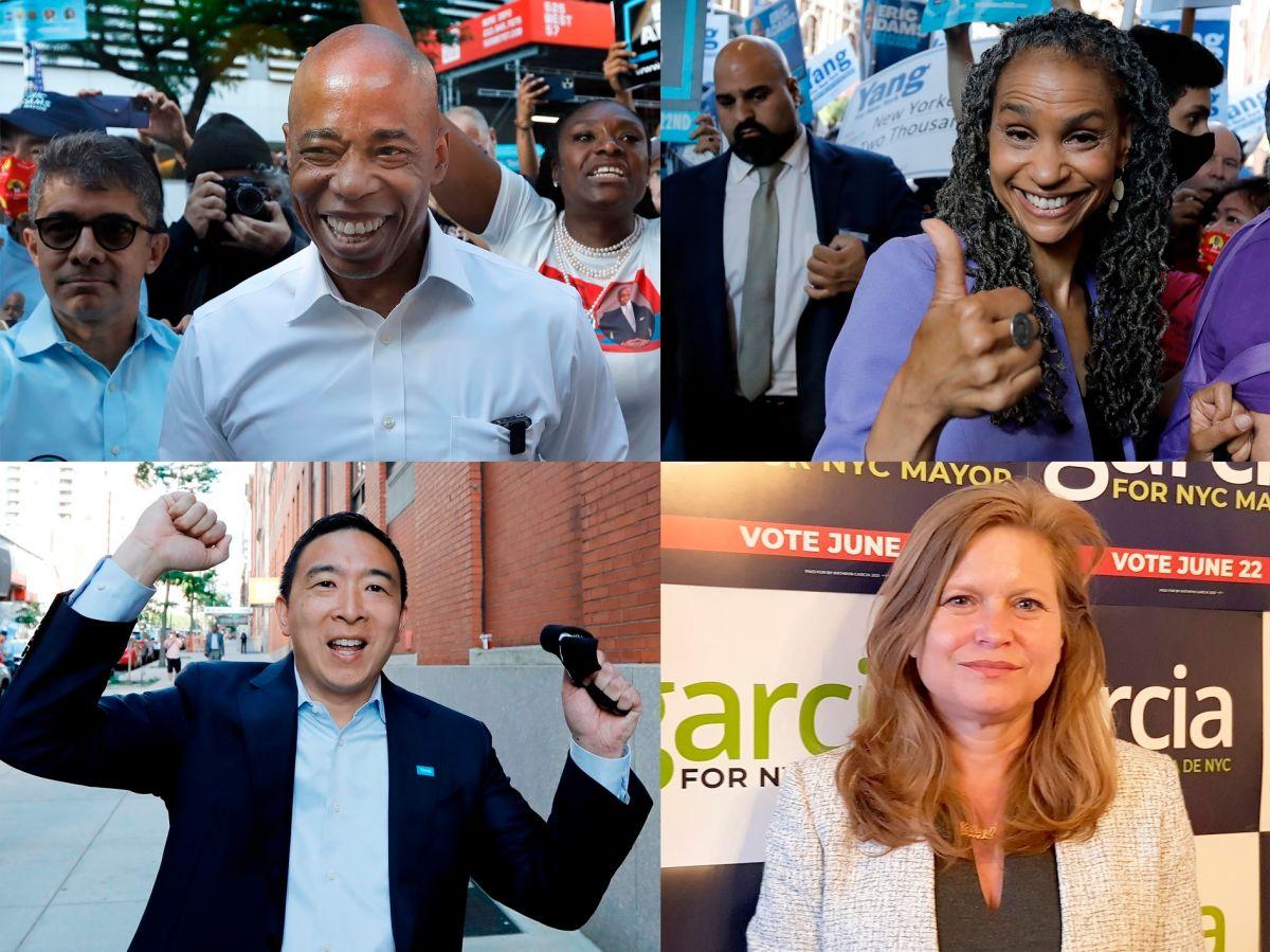 Larga espera para conocer al ganador: Eric Adams lidera las primarias a la alcaldía de Nueva York, pero lejos del requerido 50%