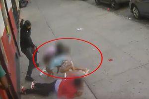 VIDEO: Policía ofrece recompensa para detener a sicario que disparó frente a hermanitos