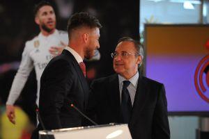 """Florentino Pérez a Ramos: """"En cualquier rincón del mundo siempre serás el hombre de la Décima"""""""