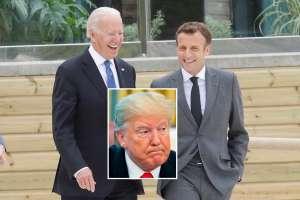 Biden y Macron desatan la furia de Trump en reunión de los G-7