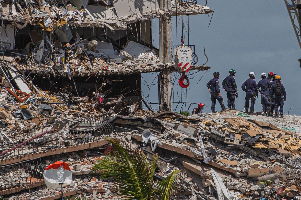 Los cuerpos de rescate siguen con la búsqueda de sobrevivientes.