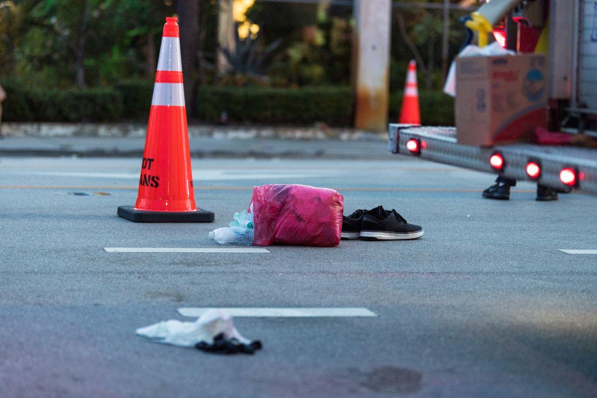 El momento en que una camioneta embistió la marcha del Orgullo Gay y mató a un asistente