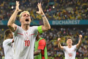 Otro golpe a CR7: jugador suizo se tomó una Coca-Cola antes de los penales y eliminó a Francia de la Eurocopa 2020