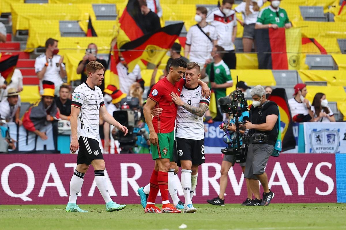 Suspiraron los madridistas tras el emotivo reencuentro entre Cristiano Ronaldo y Toni Kroos