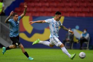 Lo compararon con Higuaín: imperdibles memes sobre el fallo de Lautaro contra Uruguay
