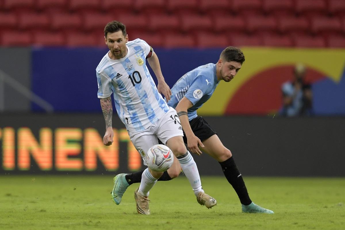 Video: Con exquisita asistencia de Messi la Selección Argentina venció a Uruguay en Brasilia