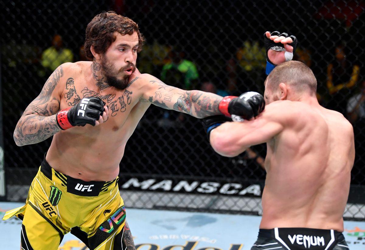 Ecuadorian power: Marlon Vera gave the fight of the night at UFC Las Vegas 29 and took revenge against Englishman Davey Grant [Video]