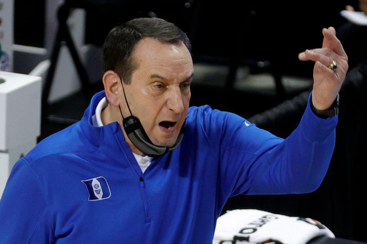 Mike Krzyzewski ha estado al frente de la Universidad de Duke por 41 años.
