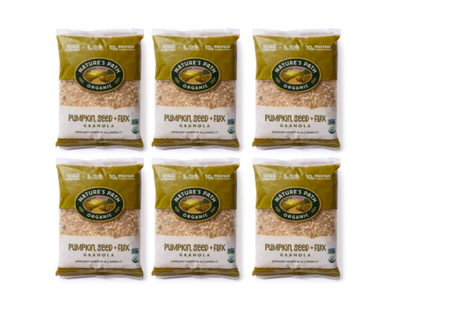 Paquetes de granola Nature´s Path