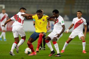 Colombia vs. Perú: alineaciones, horarios y dónde ver el partido