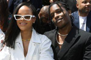 El rapero ASAP Rocky afirma ser un hombre muy afortunado por tener a Rihanna como pareja