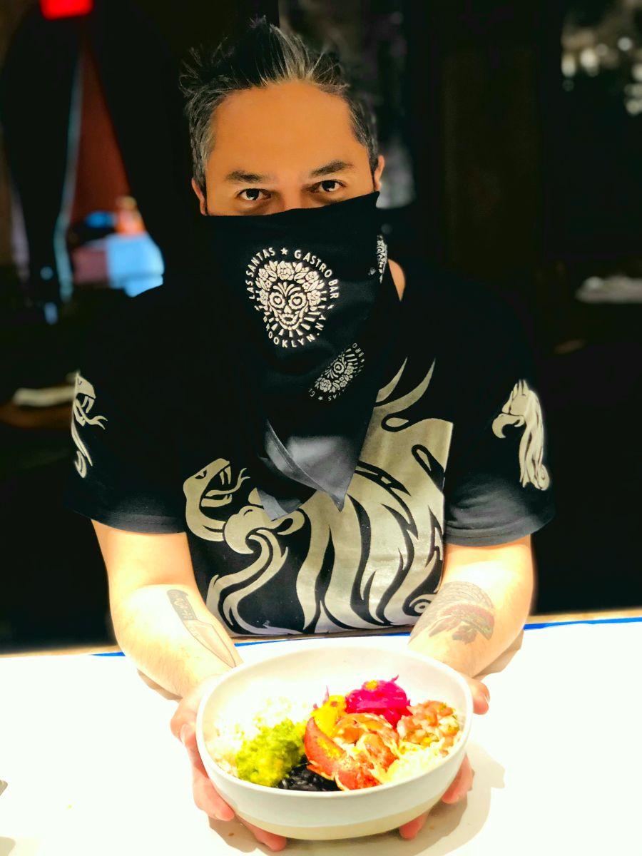 """El restaurante Las Santas ofrece comida mexicana """"honesta"""""""