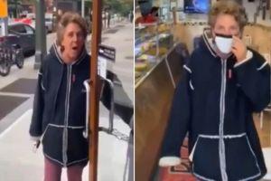 """VIDEO: Mujer racista lanza picante a bebé de 5 meses: """"Salgan del país"""", le gritó a la mamá y a sus hijitas"""
