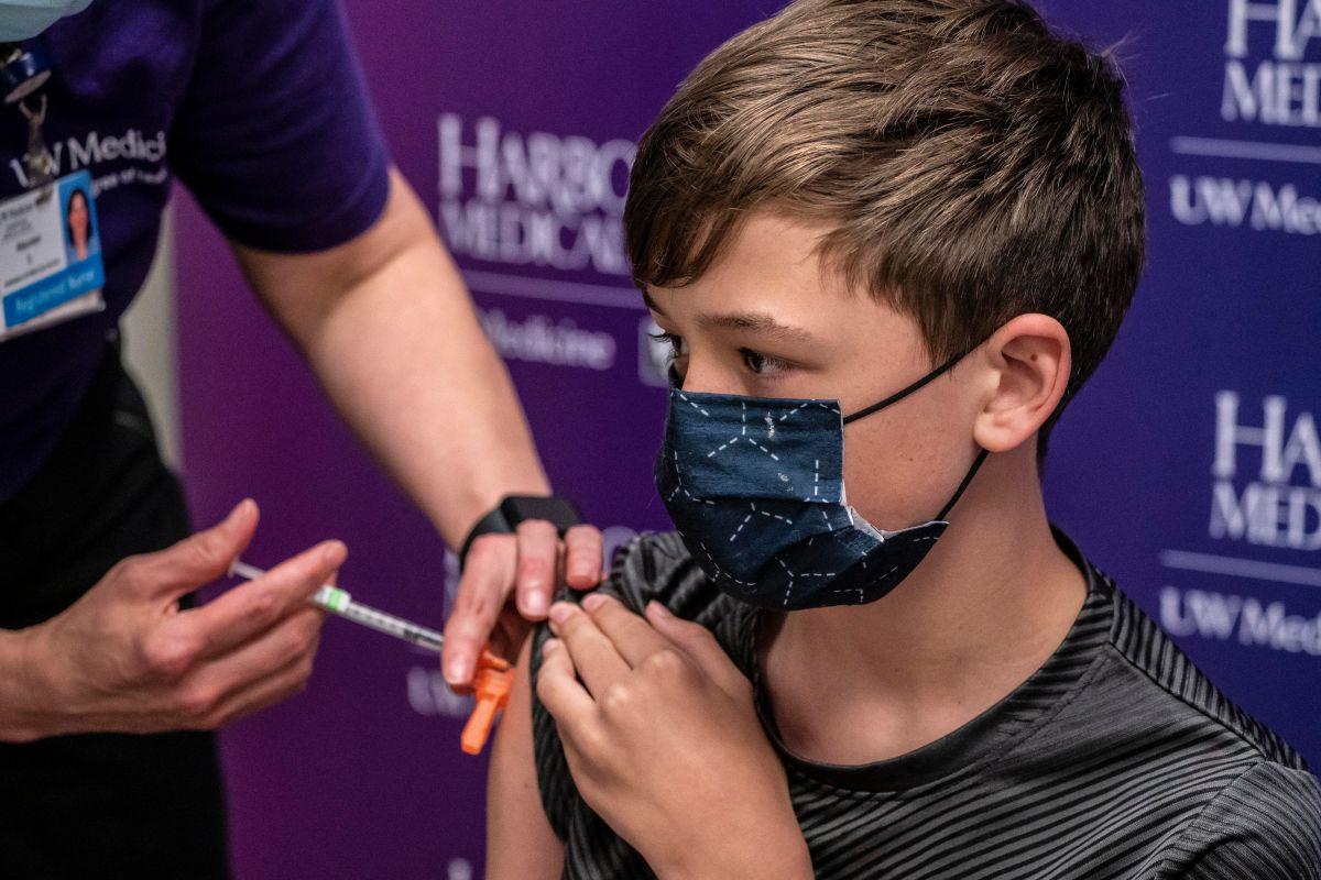 Hasta ahora en NYC se han vacunado el 23% de los menores entre los 12 y 15 años.