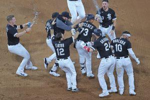 Yermín Mercedes acabó slump con hit ganador, debutó como catcher en MLB y mostró un corte al estilo Yerminator