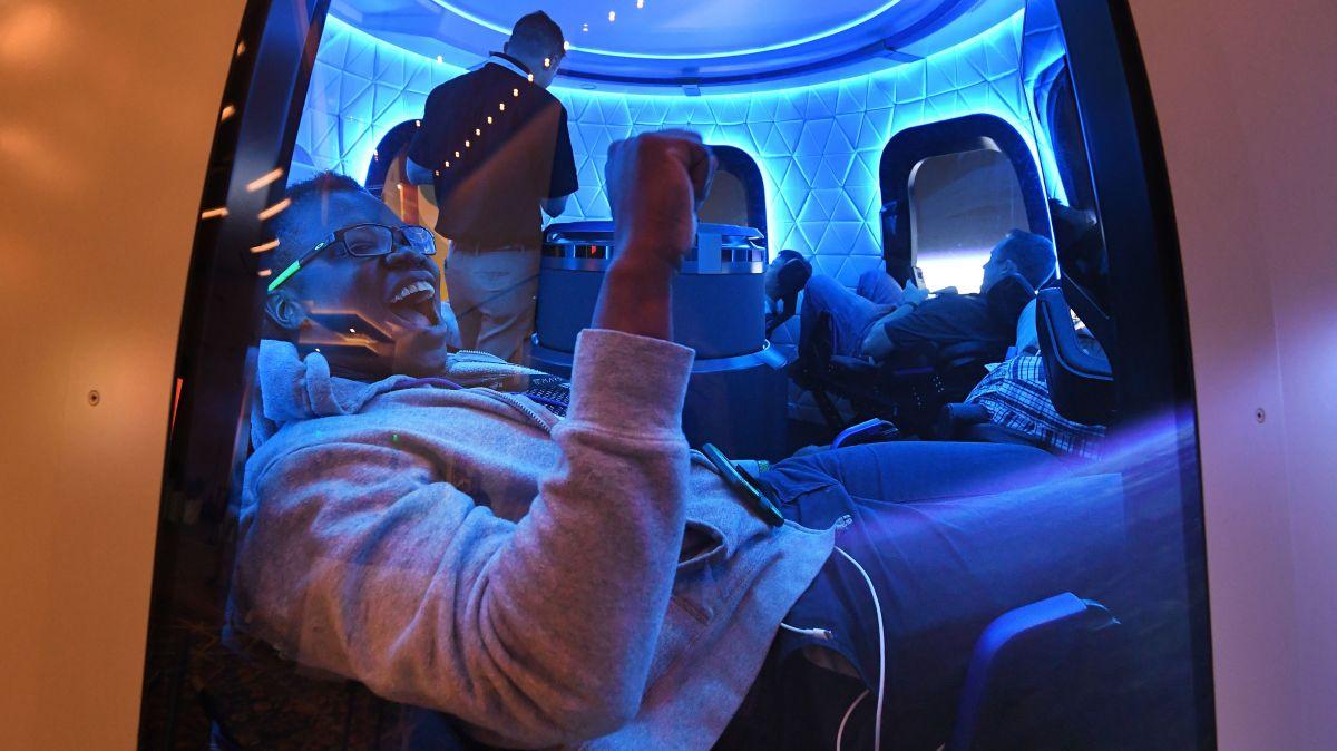 Jeff Bezos, de viaje al espacio en poco más de un mes en el Blue Origin
