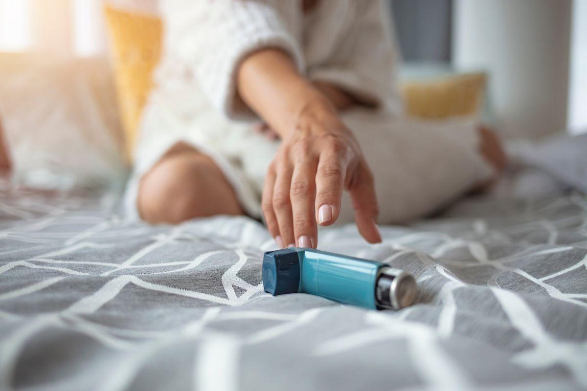 El inhalador permite regularizar la respiración durante un ataque de pánico o ansiedad.