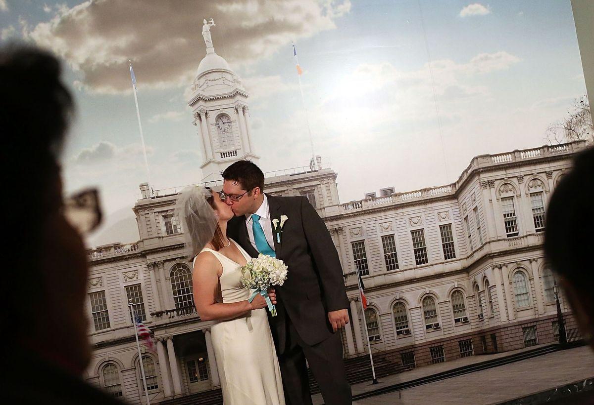 En dos días se podrá dar el 'Sí' en persona en las Oficinas de Matrimonios de la Ciudad de Nueva York