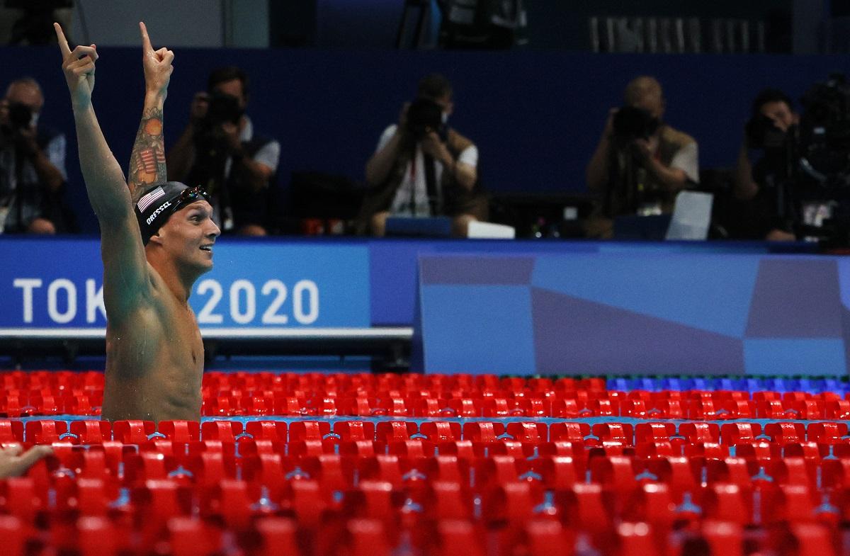 Con 24 años de edad se colgó su primera medalla olímpica.
