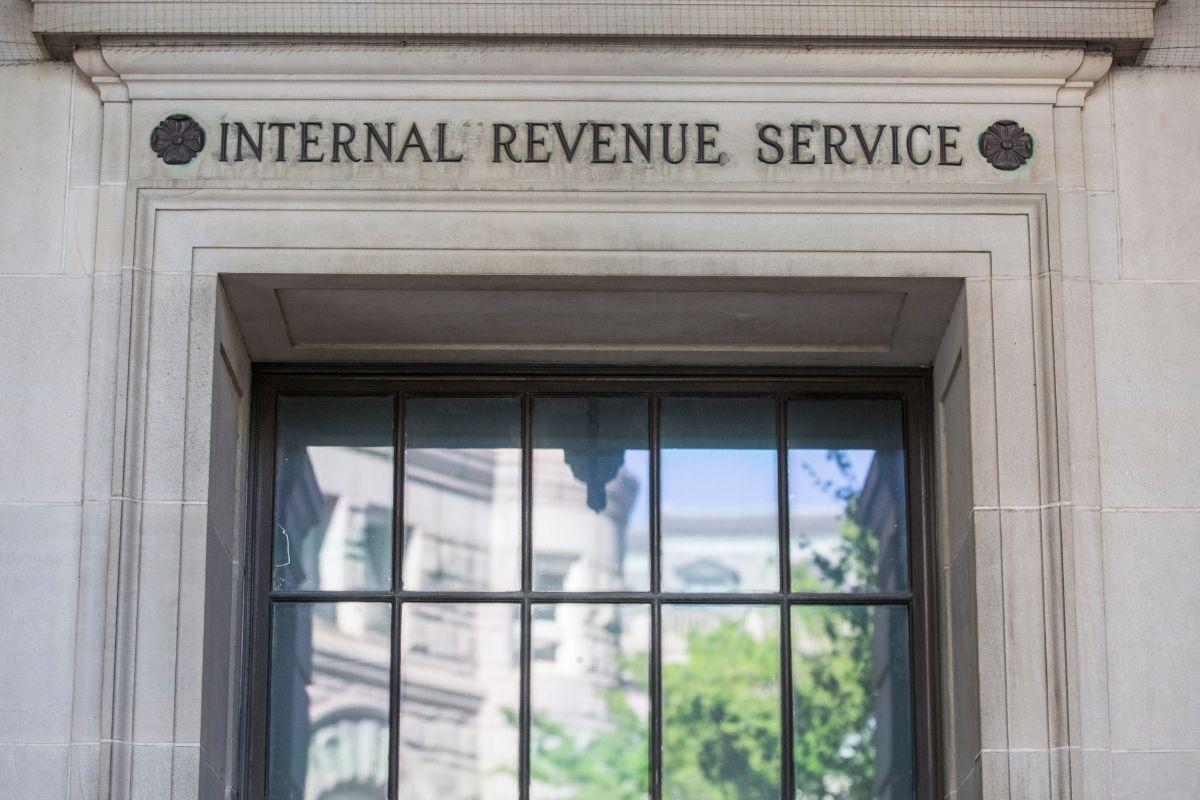 Las oficinas del IRS en Washington D.C.