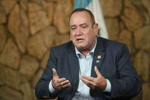 Crisis en Guatemala: Giammattei preocupado por suspensión de ayuda de EE.UU. a Fiscalía