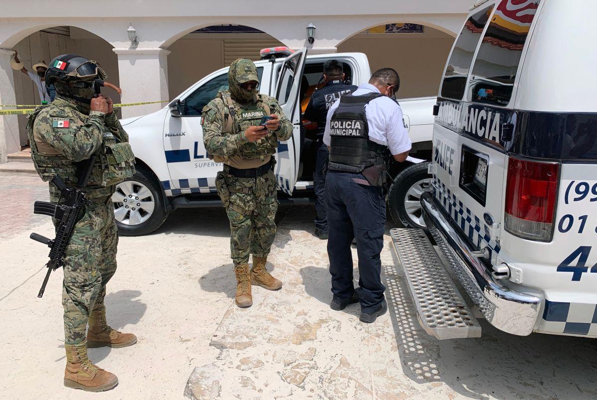 Crimen en Cancún.