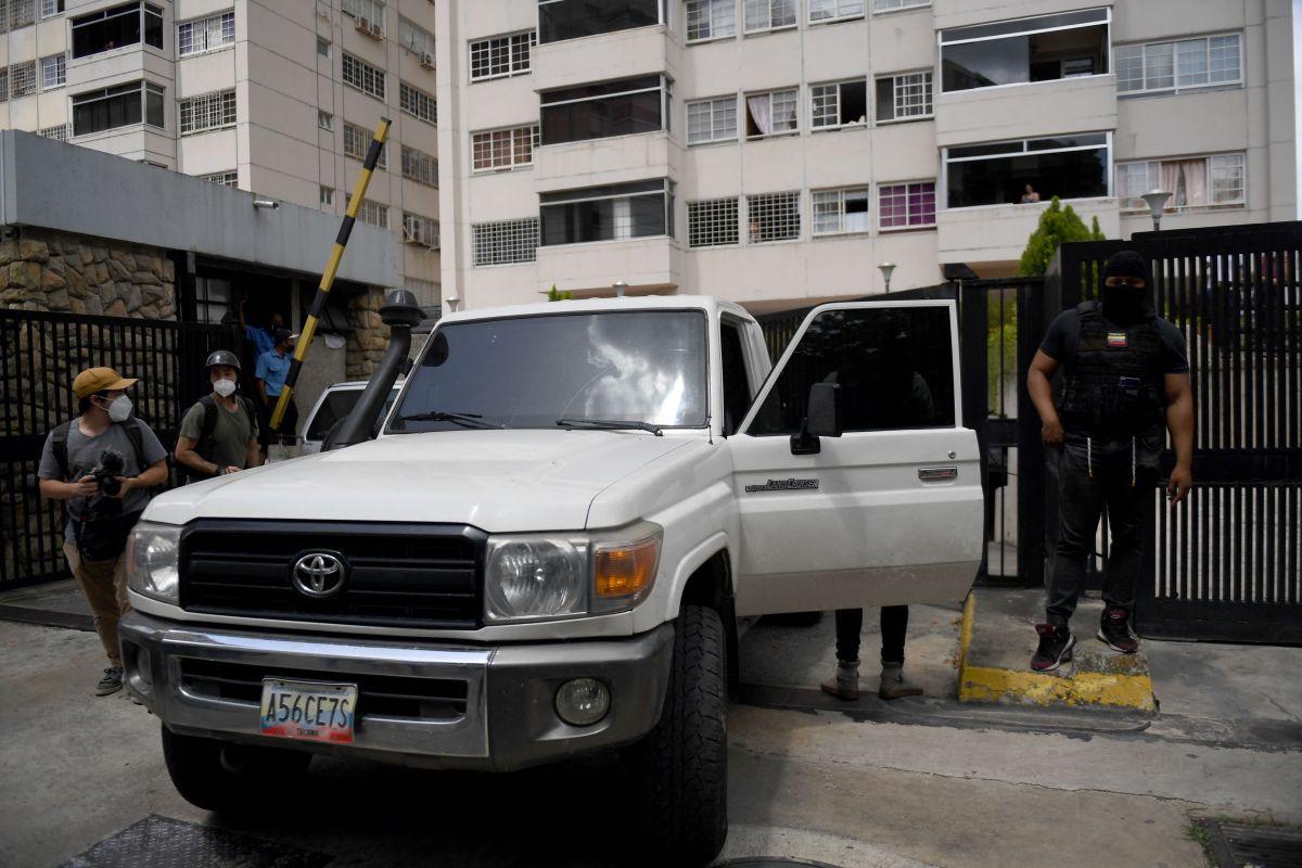Fuerzas de Maduro llegaron al domicilio de Guaidó.
