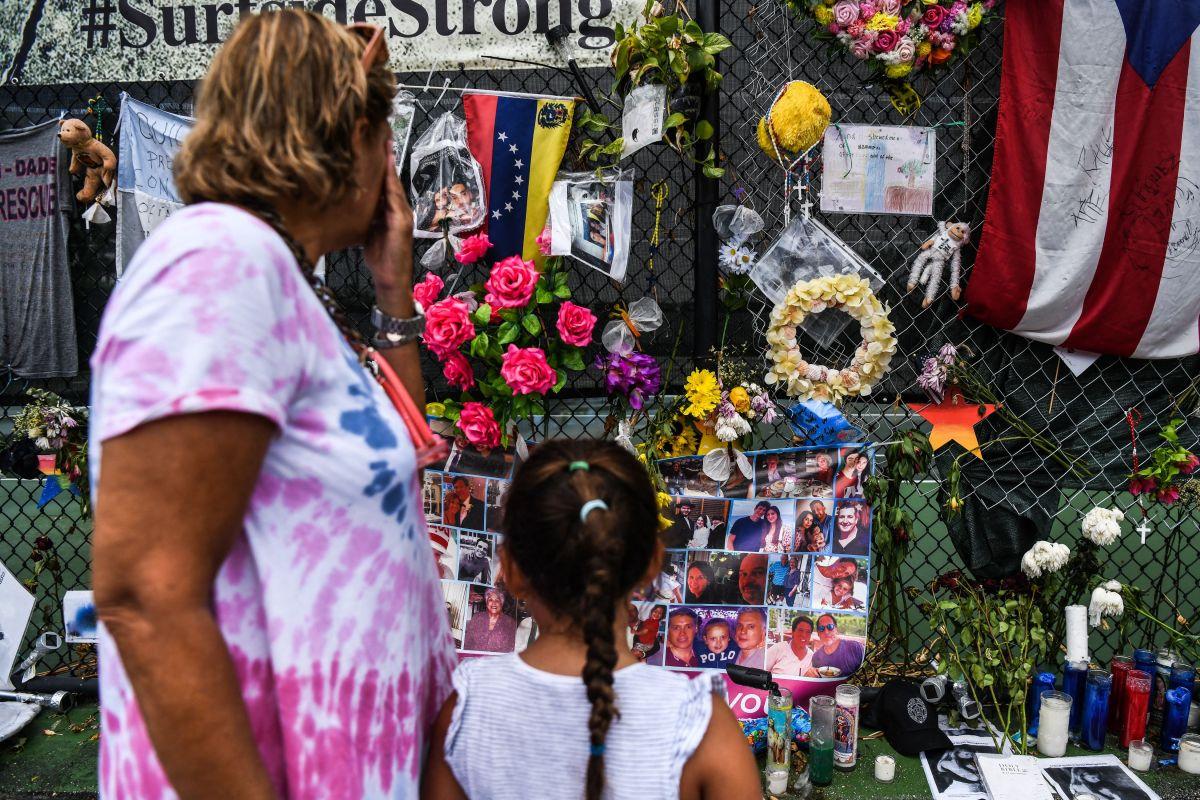 El número final de víctimas del derrumbe en Miami es de 98.
