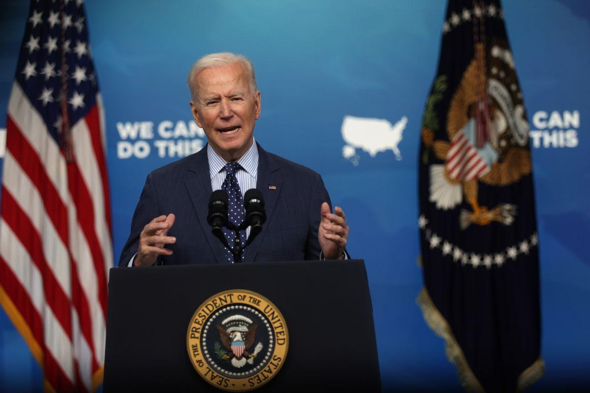 El presidente Biden busca mejorar los niveles de vacunación en EE.UU.