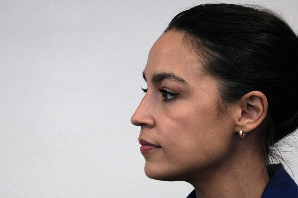 La representante demócrata por Nueva York, Alexandria Ocasio-Cortez.