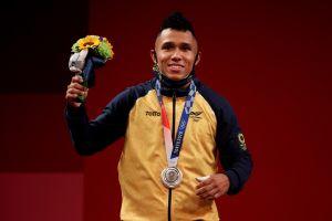 Tokio 2020: Colombia consigue medalla de plata en levantamiento de pesas