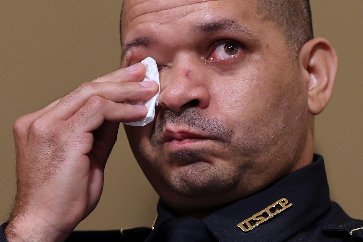 Aquilino Gonell es sargento de la Policía del Capitolio.