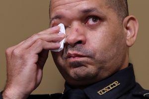El policía Aquilino Gonell es un inmigrante dominicano que es testigo clave en Comité que investiga invasión del Capitolio