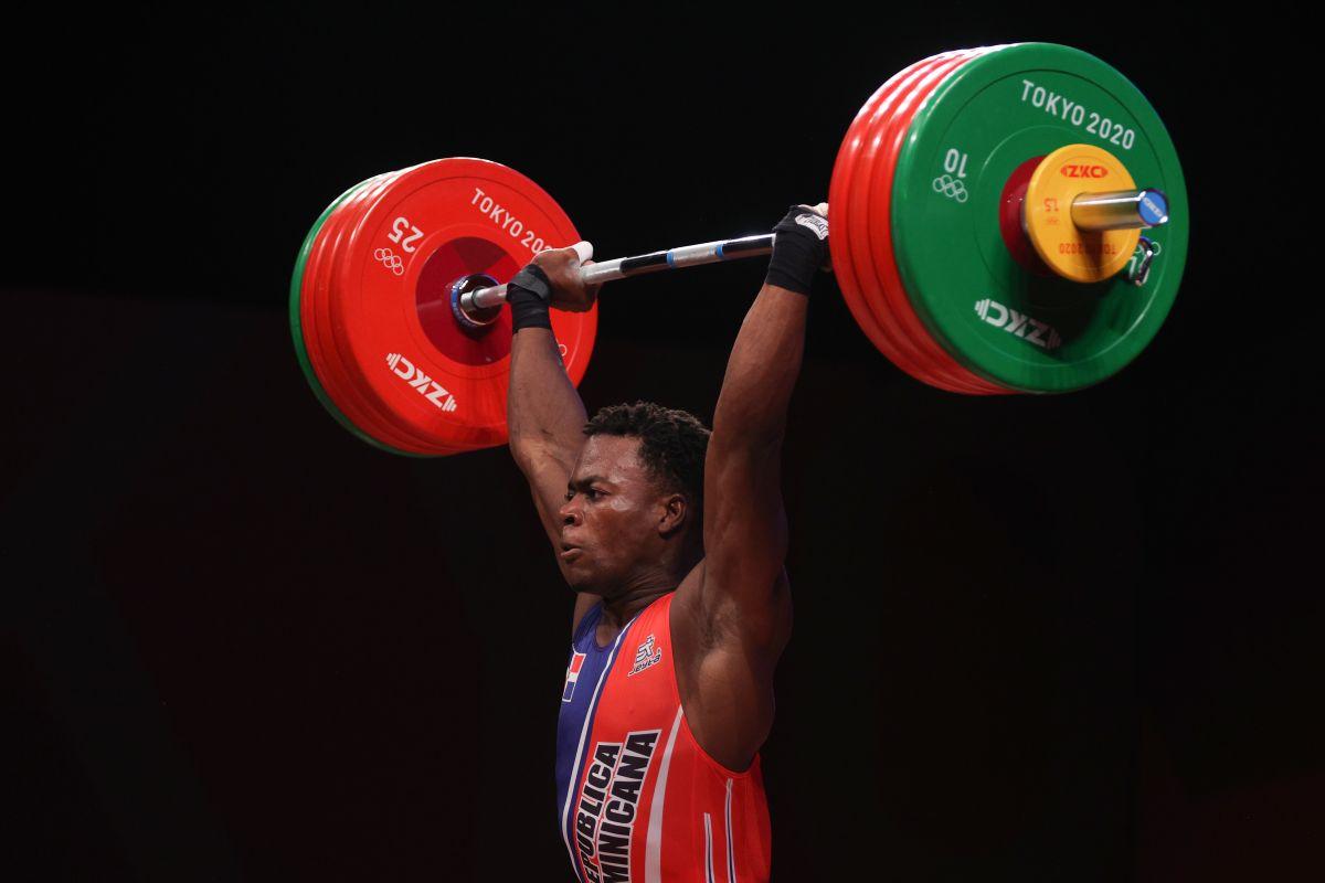 """""""Trabajé para demostrarle a mi federación y a mi país que sí se puede"""", dijo el atleta dominicano tras la competencia."""