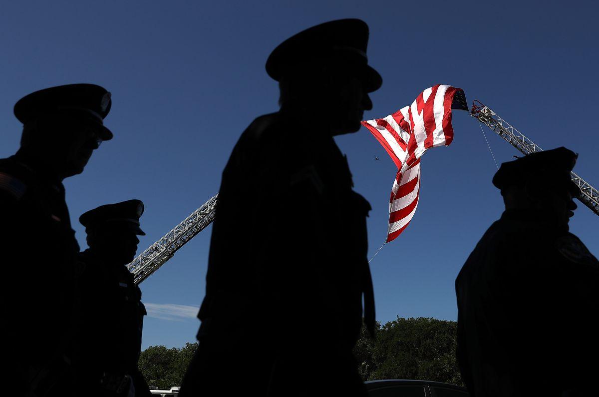 Oficiales de la Policía de Dallas.