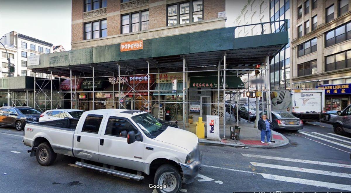 109 Lafayette St., Chinatown, NYC.