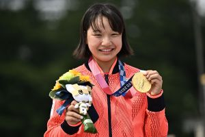 Juegos Olímpicos de la juventud: Momji Nishiya, de 13 años, ganó la medalla de oro en skate en Tokio 2020
