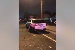 Hispano ebrio y sin licencia chocó contra patrulla policial en Nueva York