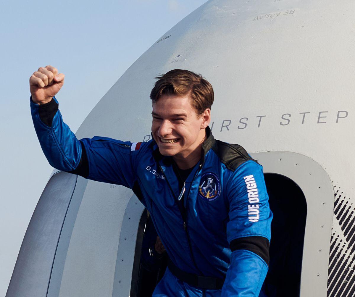 Oliver Daemen, el joven holandés que viajó con Jeff Bezos el pasado 20 de julio.