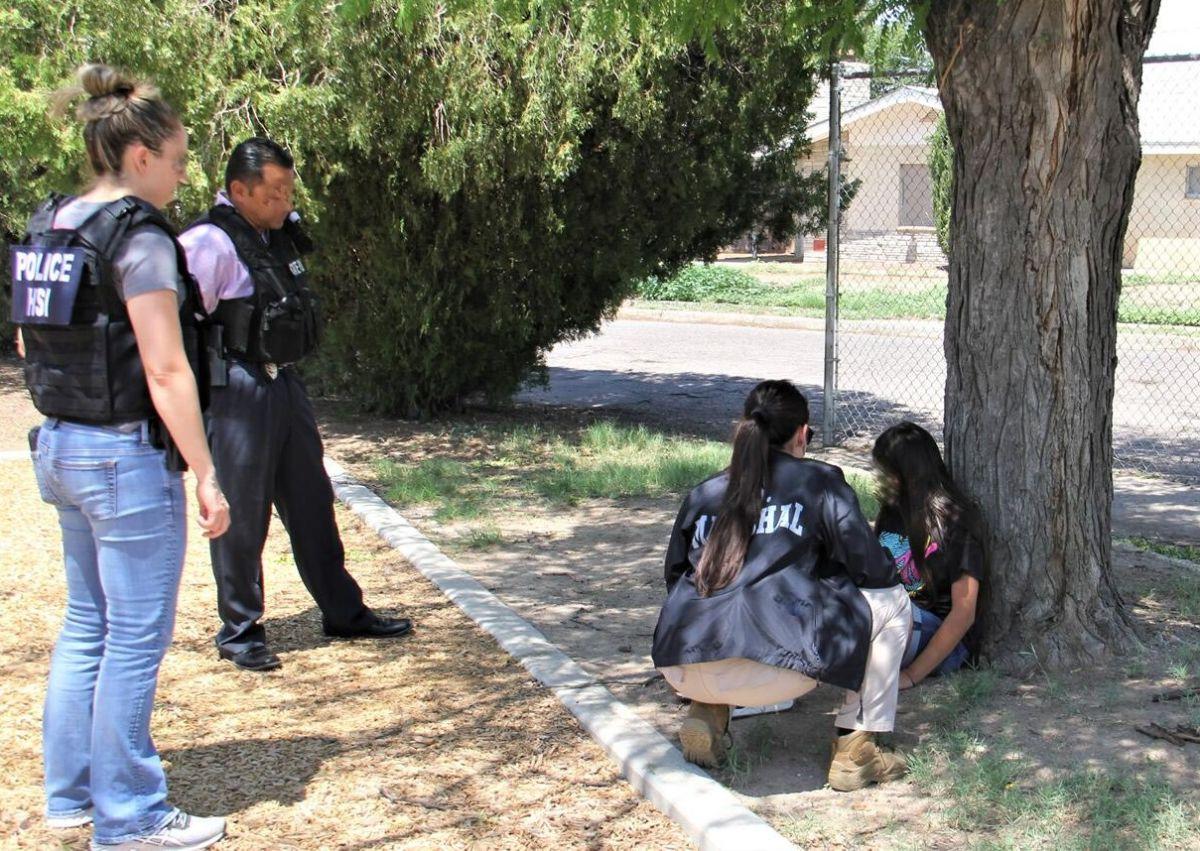Seguridad Nacional rescata a 78 menores desaparecidos
