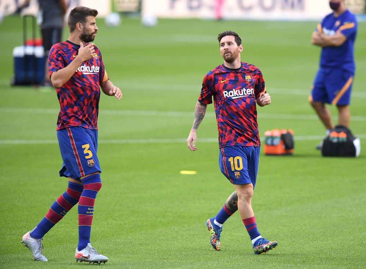 El central del club catalán aspira jugar otra vez con el argentino.
