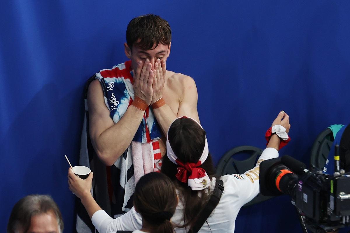 Tom Daley ganó su medalla dorada a los 27 años de edad.