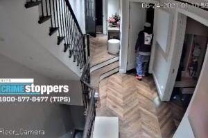 Video muestra a ladrón en apartamento de Central Park mientras la dueña dormía en su habitación