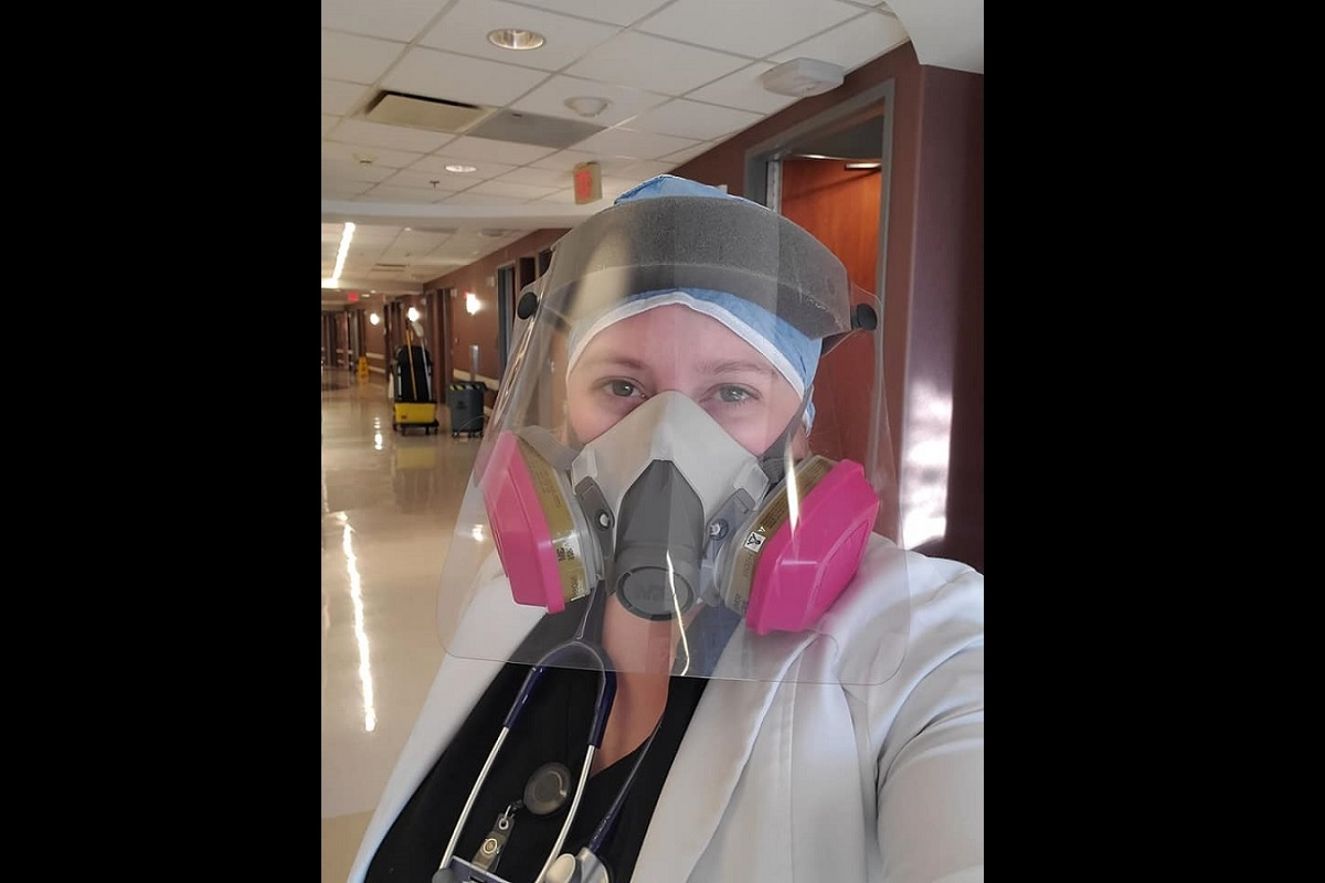 La doctora Brytney Cobia en una imagen de su perfil de Facebook.