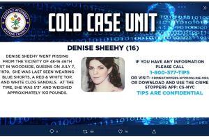 """Misterio policial: """"adolescente"""" cumplió 51 años desaparecida en Queens, Nueva York"""