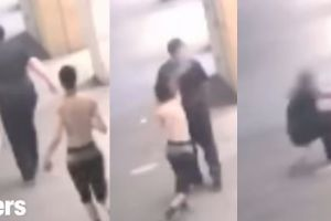 Otro aterrador ataque aleatorio en Nueva York: queman con líquido a un hombre desprevenido