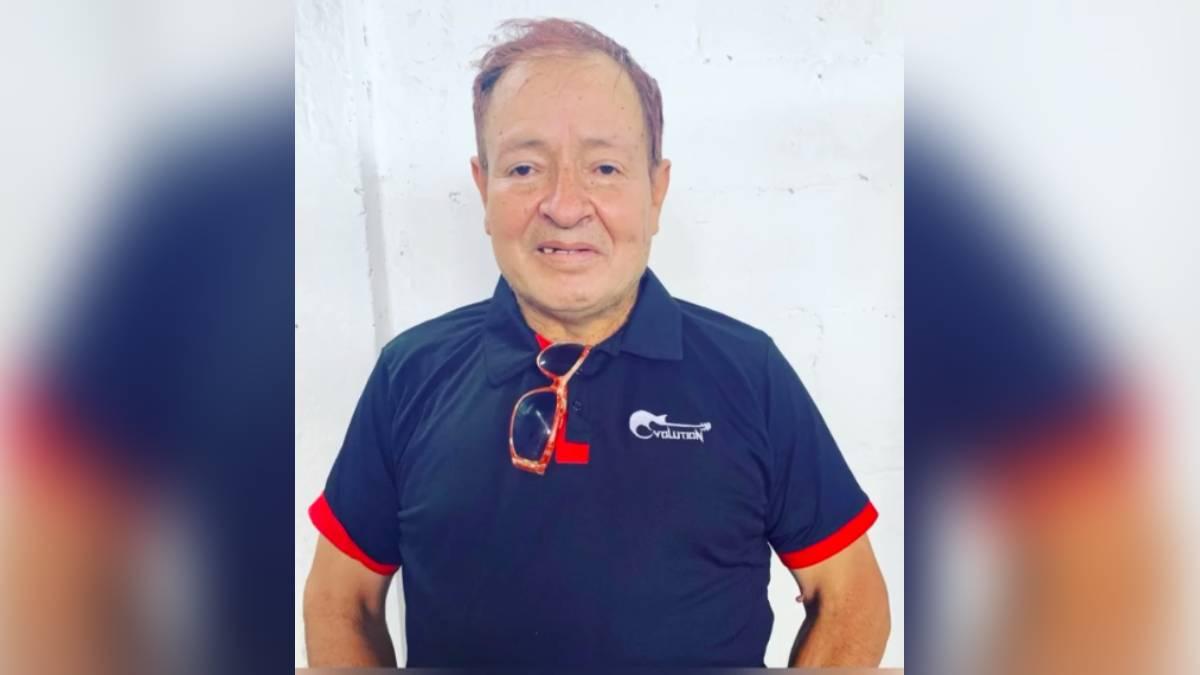 Muere Sammy Pérez a los 55 años por un paro cardiovascular.